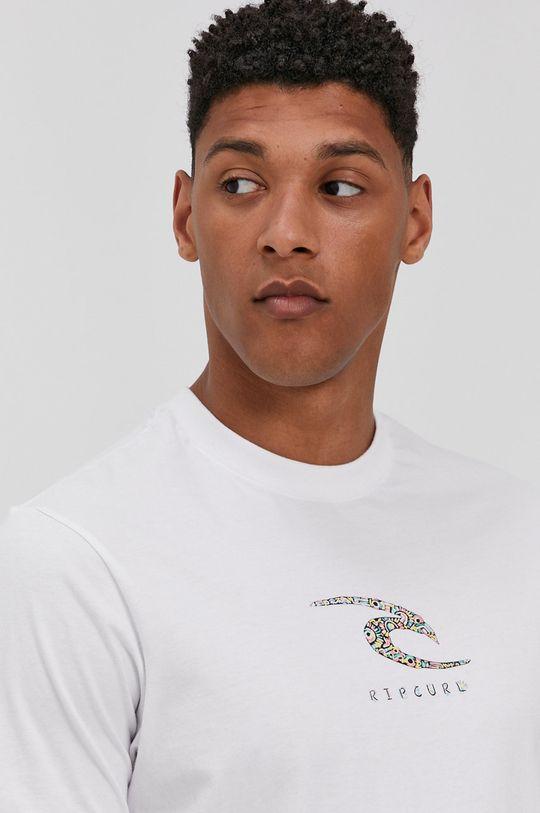 biały Rip Curl - T-shirt