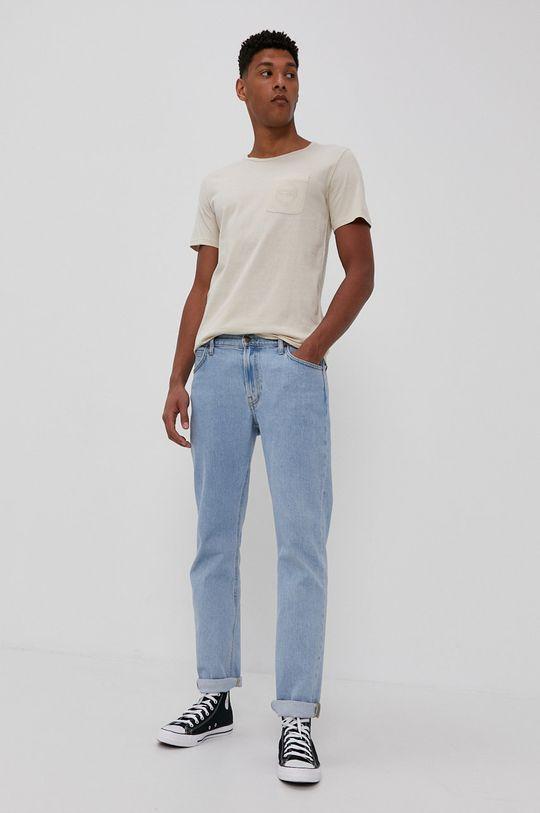 Rip Curl - T-shirt kremowy
