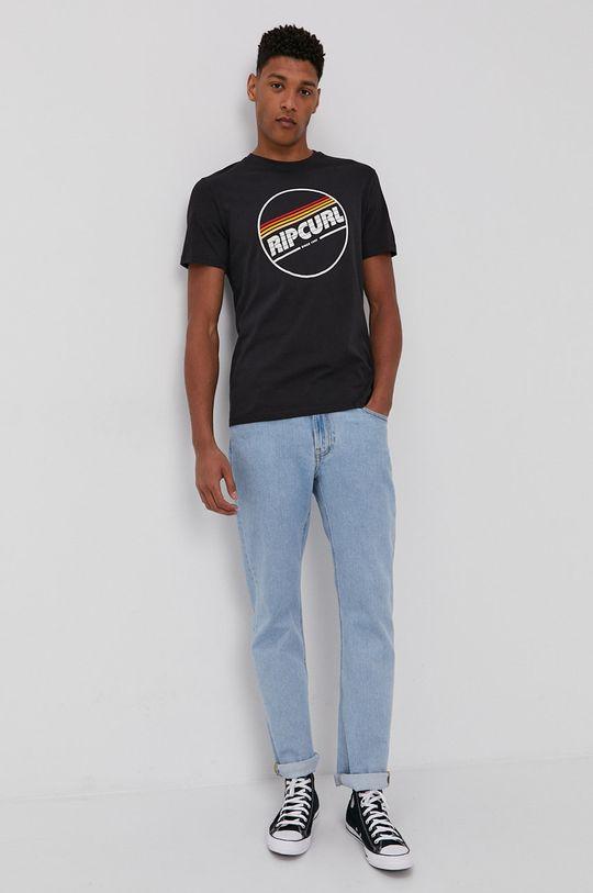 czarny Rip Curl - T-shirt