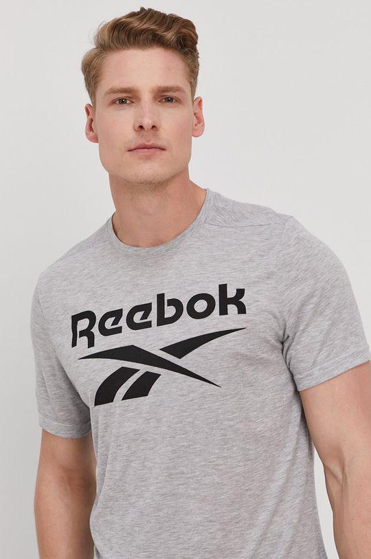 sivá Reebok - Tričko Pánsky