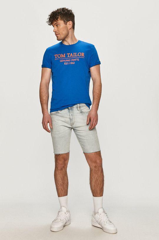 Tom Tailor - Tričko modrá