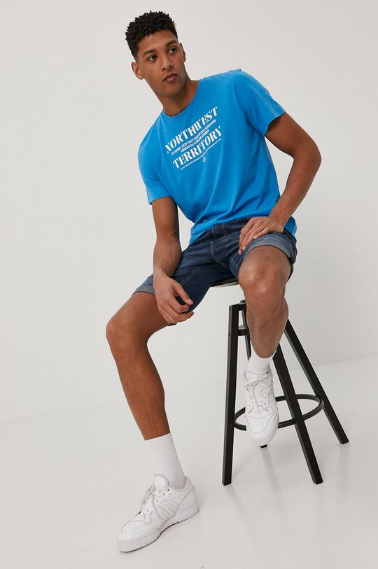 Tom Tailor - Футболка блакитний