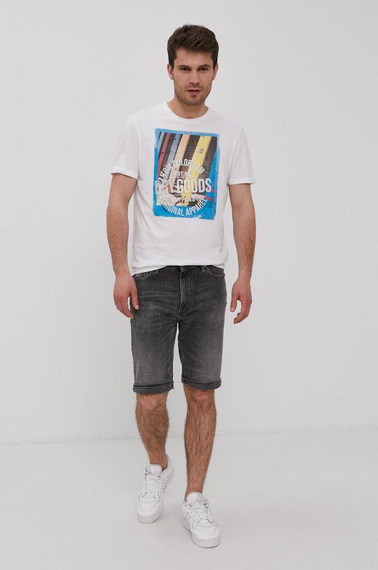 Tom Tailor - T-shirt biały