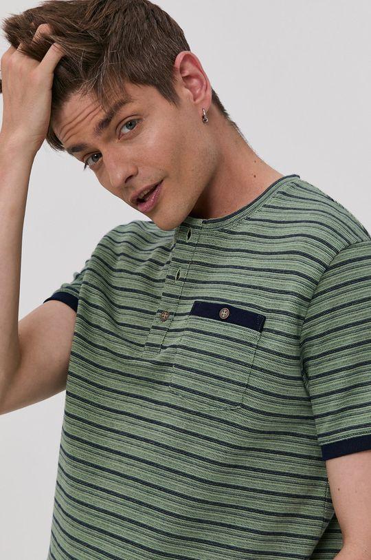 zelená Tom Tailor - Tričko Pánský