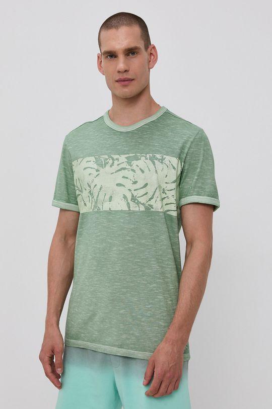 světle zelená Tom Tailor - Tričko Pánský