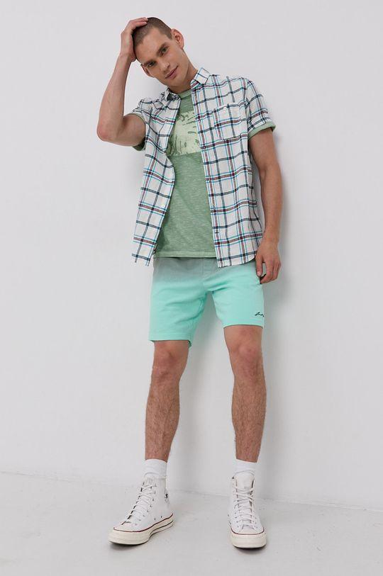 Tom Tailor - Tričko světle zelená