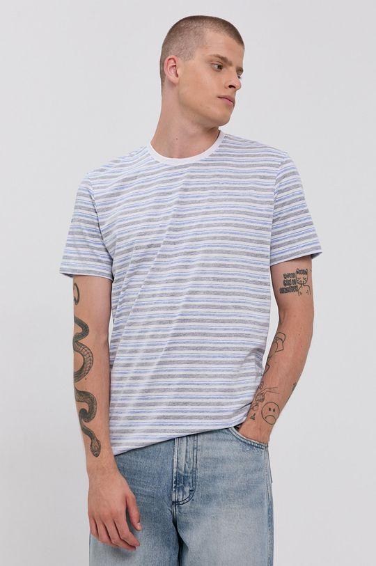 modrá Tom Tailor - Tričko Pánský