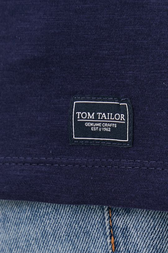 granatowy Tom Tailor - T-shirt