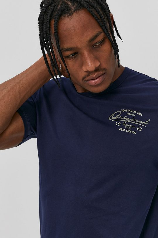 Tom Tailor - T-shirt niebieski