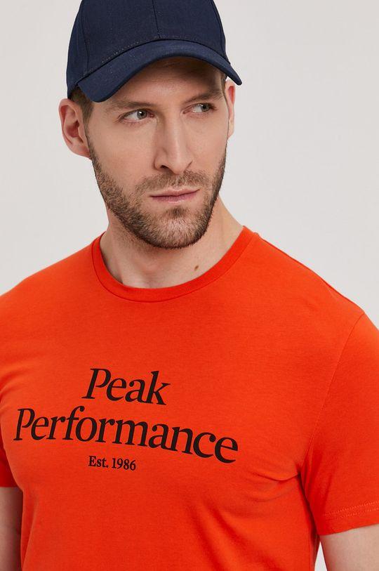 pomarańczowy Peak Performance - T-shirt
