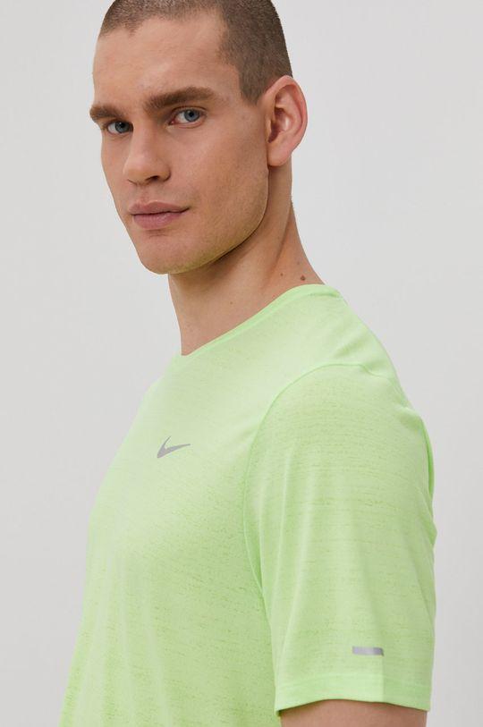 żółto - zielony Nike - T-shirt