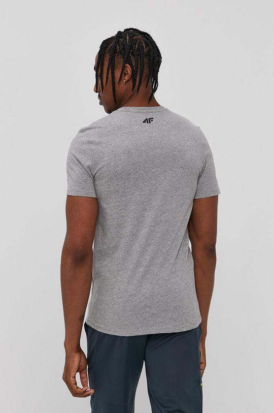 4F - T-shirt szary