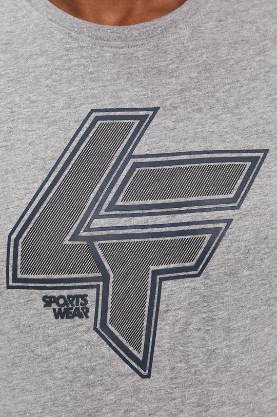 szary 4F - T-shirt