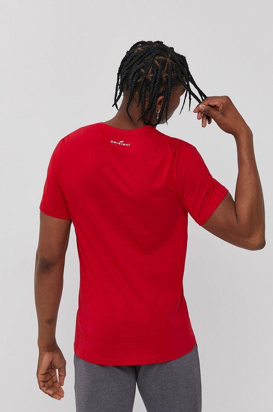 4F - Tričko sýtočervená