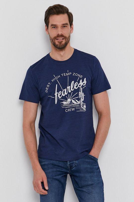 niebieski s. Oliver - T-shirt Męski