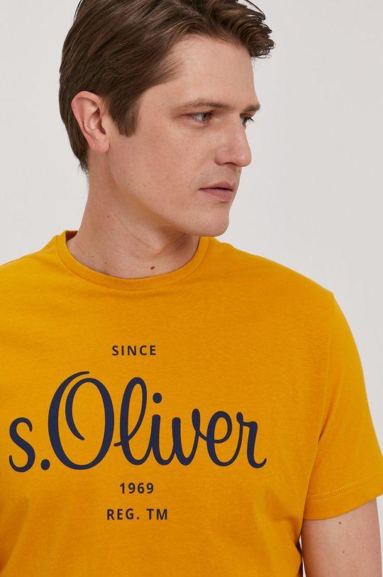 žltá s. Oliver - Tričko Pánsky