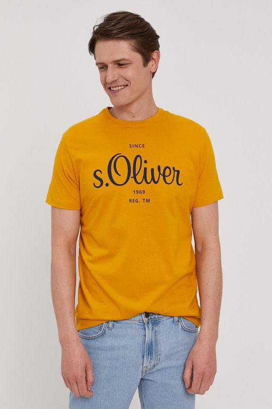 s. Oliver - Tričko žltá