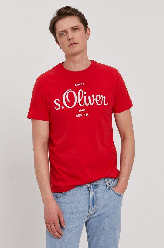 s. Oliver - Tričko červená