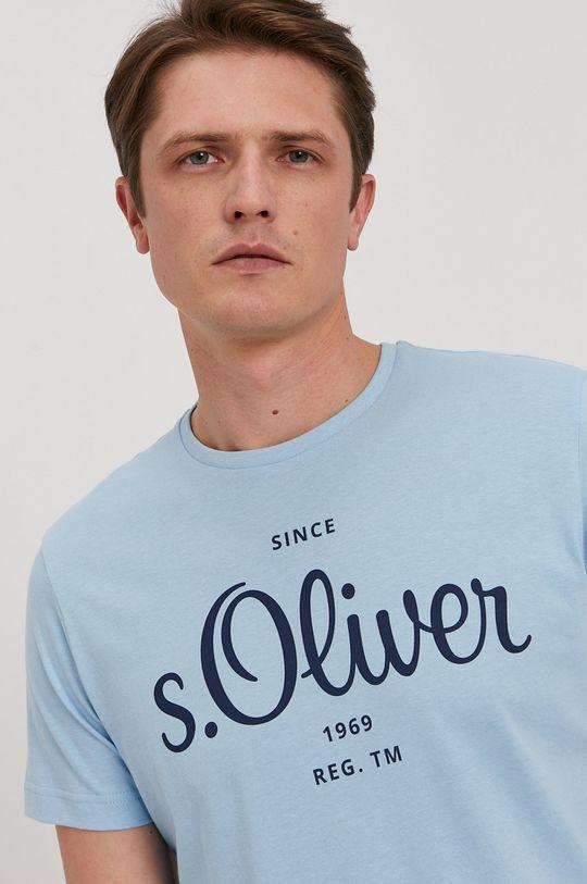albastru deschis s. Oliver - Tricou