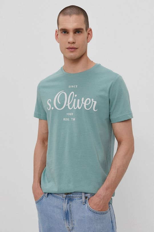 verde deschis s. Oliver - Tricou De bărbați