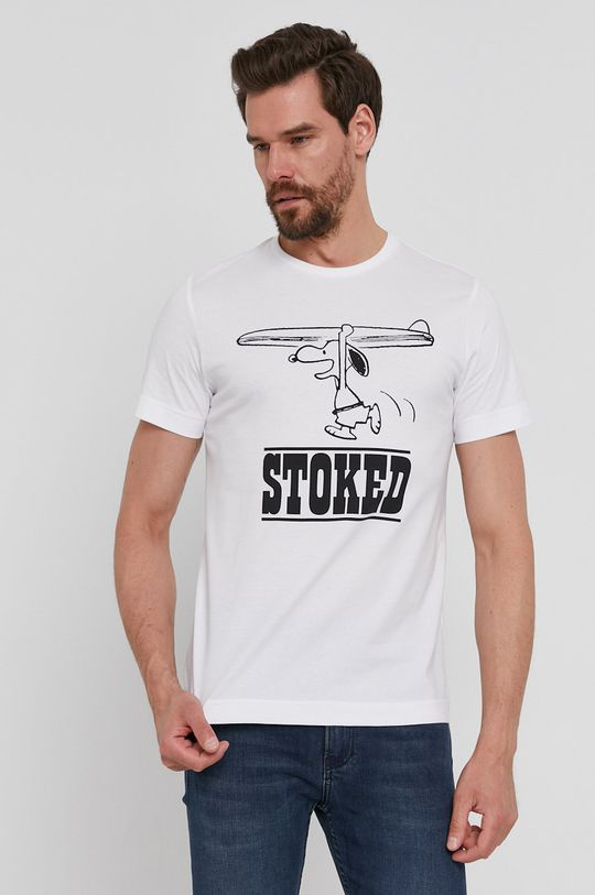 biały s. Oliver - T-shirt