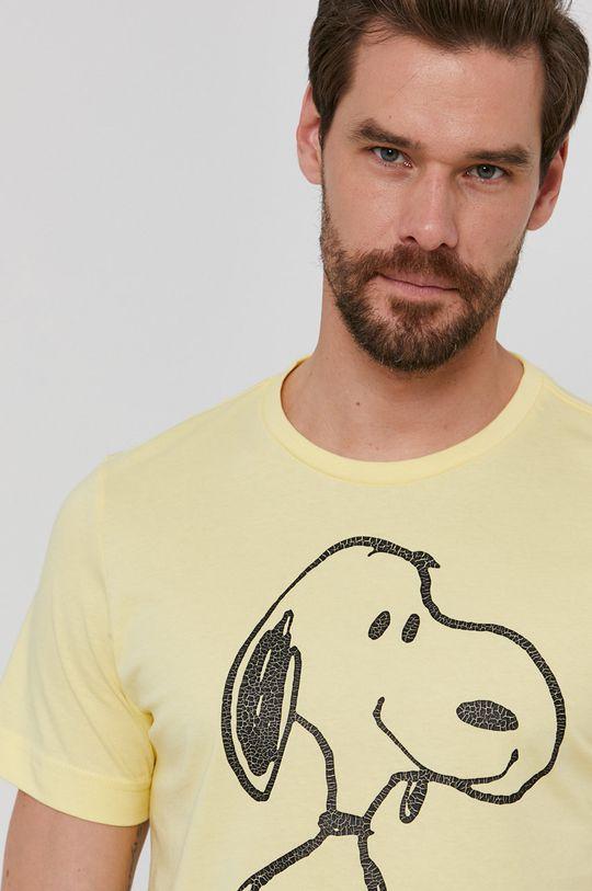 jasny żółty s. Oliver - T-shirt