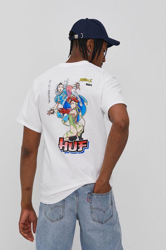biela HUF - Tričko Pánsky