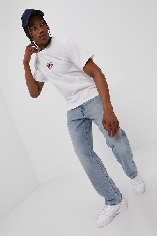 HUF - Tričko biela