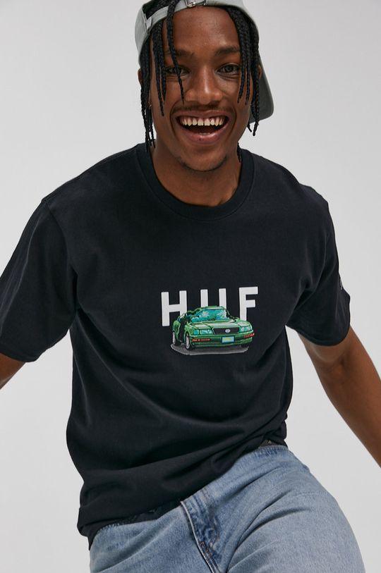 negru HUF - Tricou