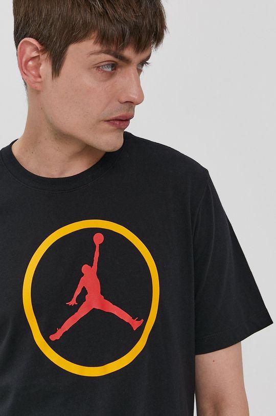 czarny Jordan - T-shirt