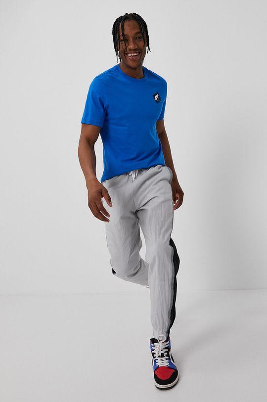 niebieski Jordan - T-shirt