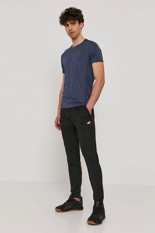 4F - T-shirt niebieski
