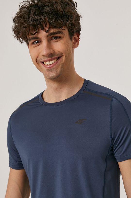 niebieski 4F - T-shirt