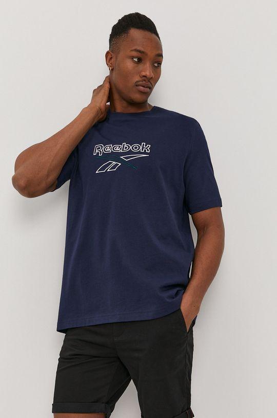 Reebok - T-shirt granatowy