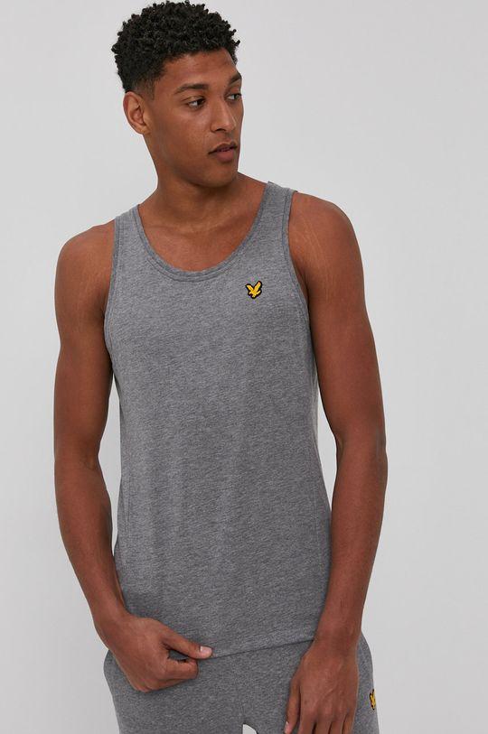 szary Lyle & Scott - T-shirt