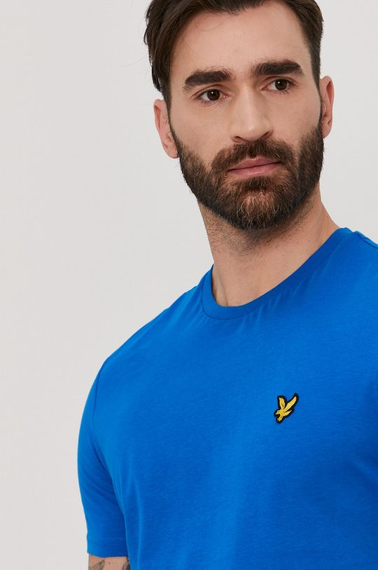 modrá Lyle & Scott - Tričko