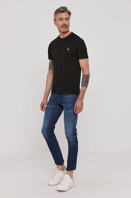 Lyle & Scott - T-shirt czarny