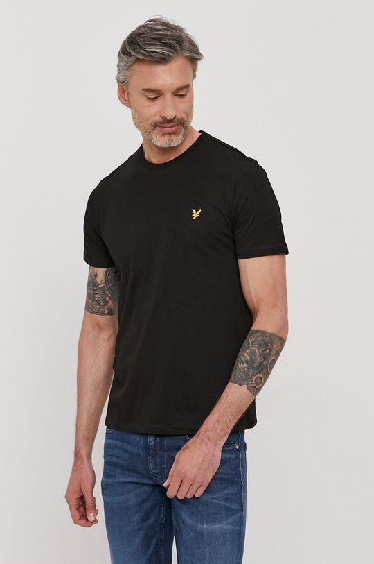 czarny Lyle & Scott - T-shirt