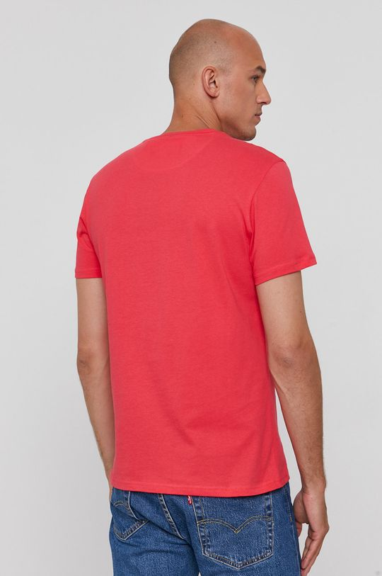 Lyle & Scott - T-shirt bawełniany 100 % Bawełna