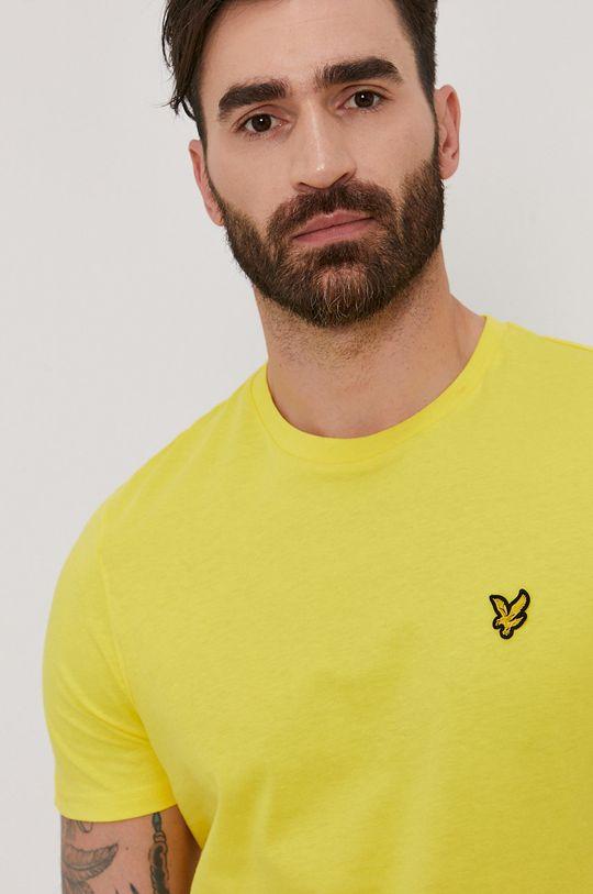 žlutá Lyle & Scott - Tričko Pánský