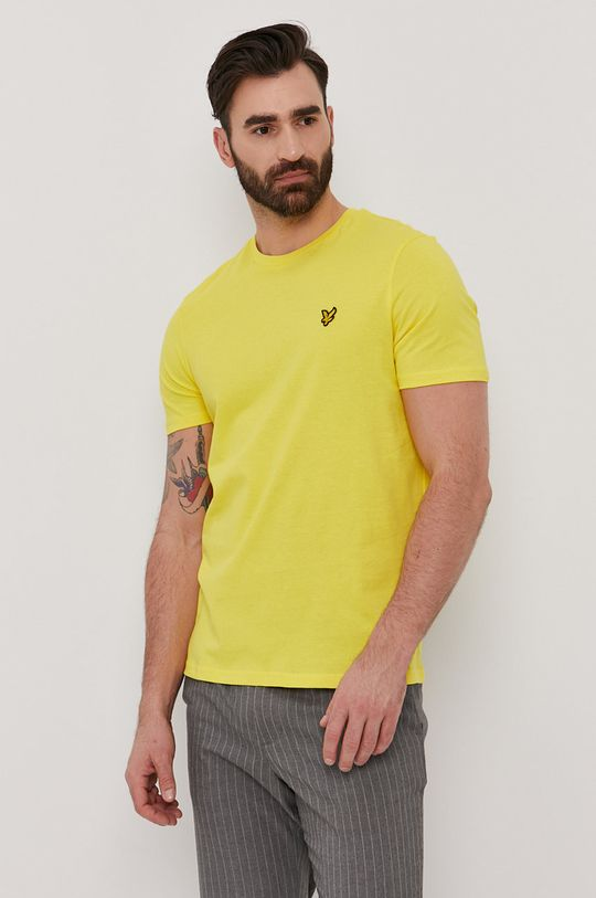 žlutá Lyle & Scott - Tričko