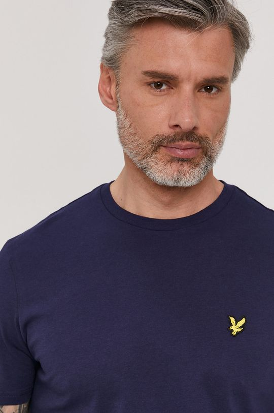granatowy Lyle & Scott - T-shirt