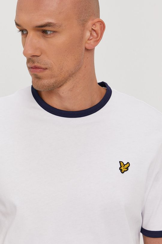biały Lyle & Scott - T-shirt