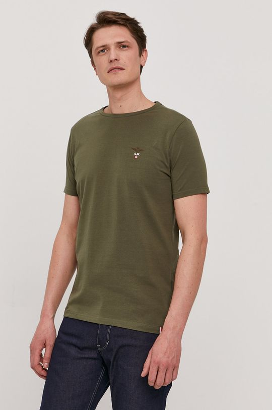 militarny Aeronautica Militare - T-shirt Męski