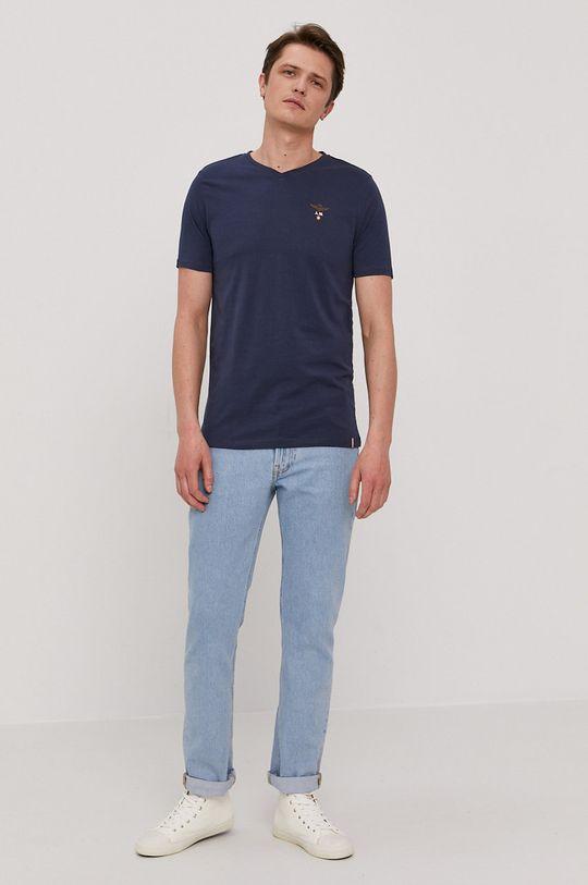 Aeronautica Militare - T-shirt granatowy