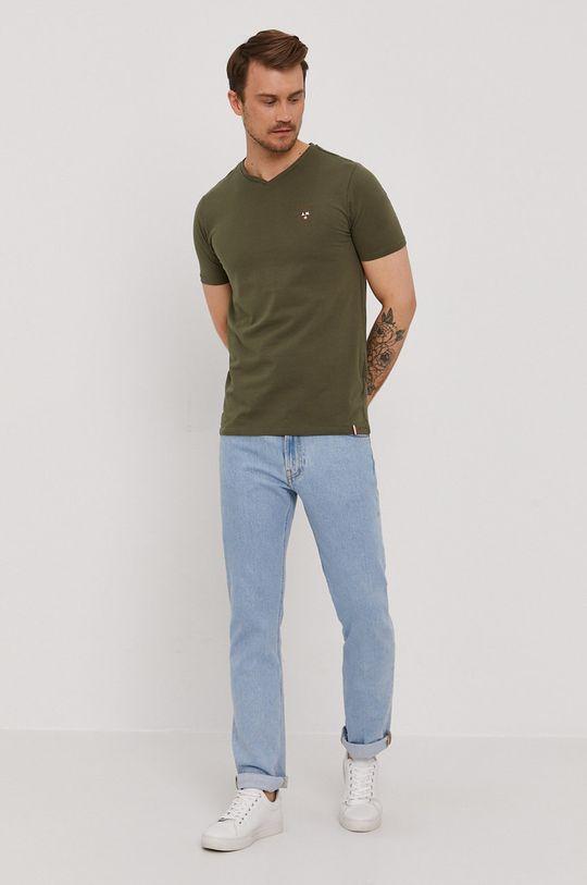 Aeronautica Militare - Tričko vojenská zelená