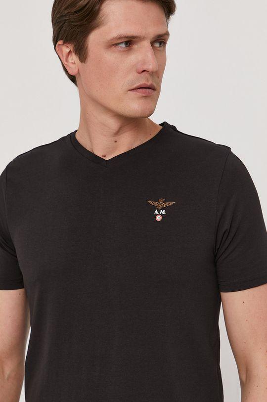 čierna Aeronautica Militare - Tričko