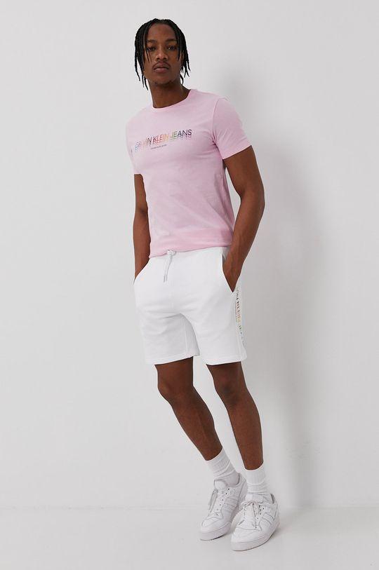Calvin Klein Jeans - Tričko ružová