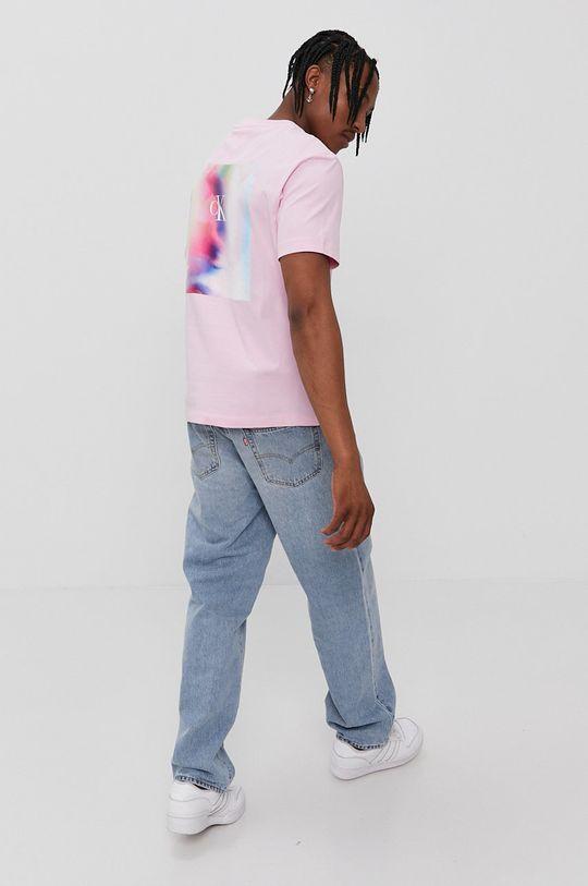 roz Calvin Klein Jeans - Tricou De bărbați