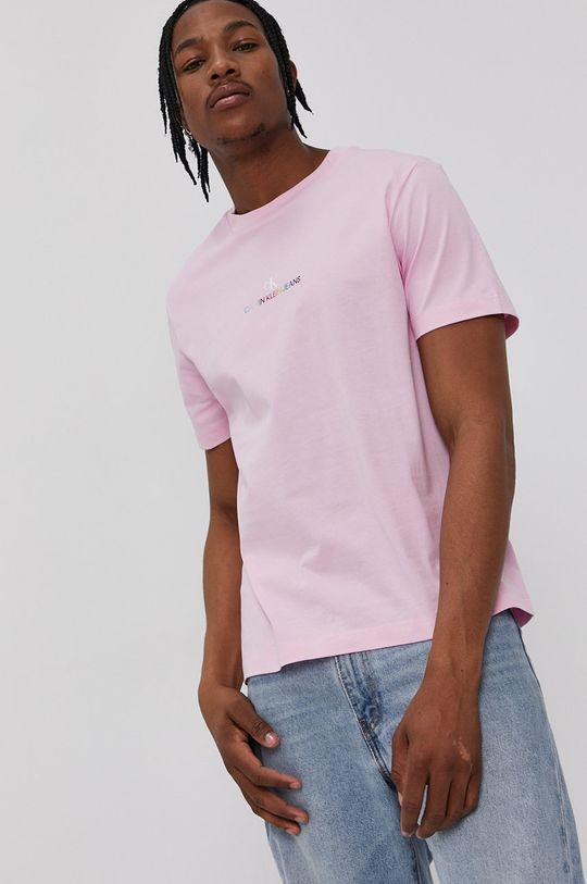 Calvin Klein Jeans - Tricou roz